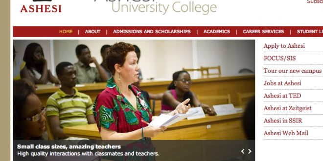 "Note the caption!! ""Small class sizes, amazing teachers"""