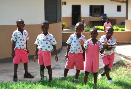 Children at SOS Nursery School in Tema, Ghana. Photo credit: Extra